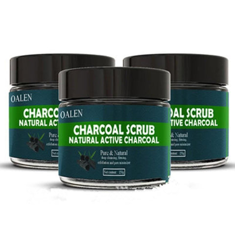 Womens Exfoliating Active Charcoal Bath Salts Skin Care