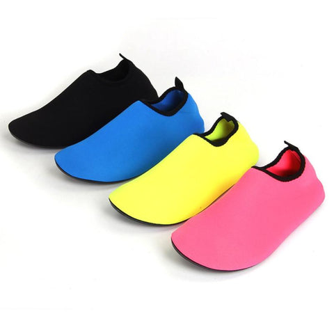Womens Fashion Swimming Snorkeling Non-Slip Seaside Beach Shoes