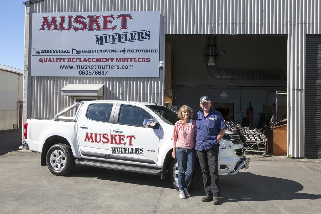 Musket Mufflers Workshop - in Palmerston North, New Zealand