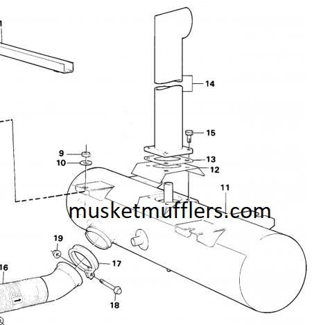 Copy Of Volvo L 120 C Muffler