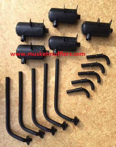 Musket Mufflers - best quality exhaust parts mufflers and silencers