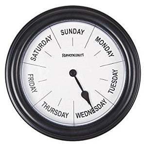 Days of the Week Clock