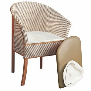 Derby Basket weave Commode
