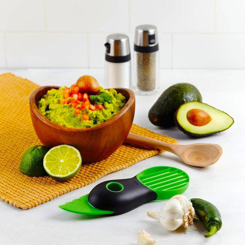 3-in-1 Safe Avocado Slicer & Corer