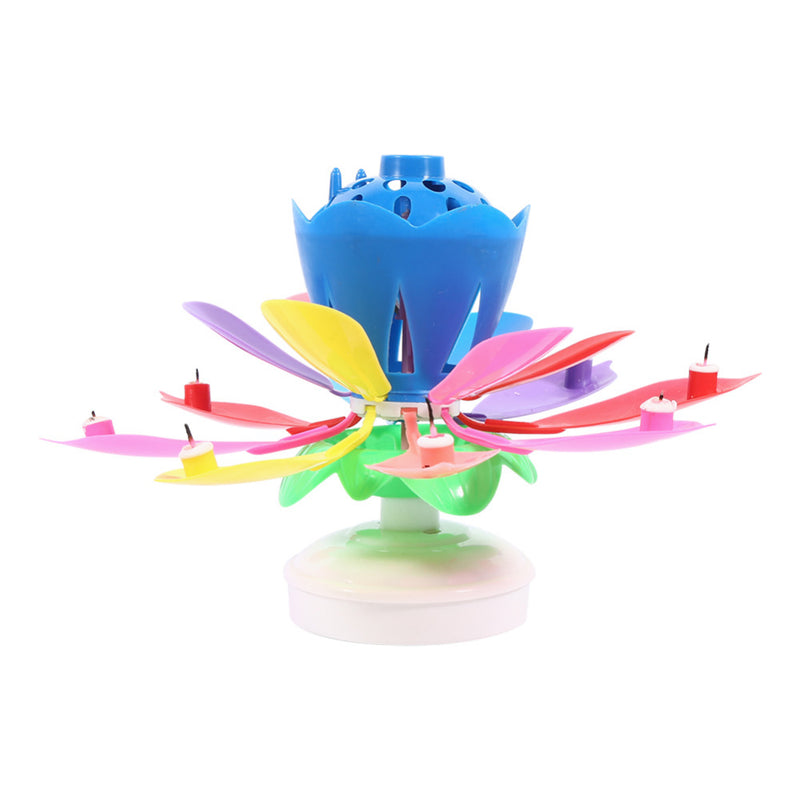 Musical Lotus Flower Candles