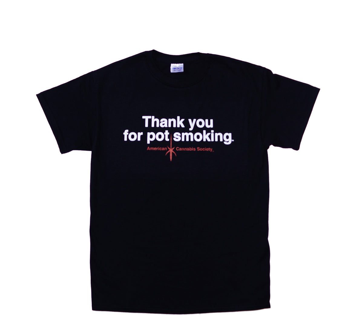 Thank You For Pot Smoking® T-Shirt - Black