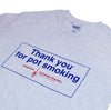 Vintage Thank You For Pot Smoking™ T-Shirt - Ash Grey
