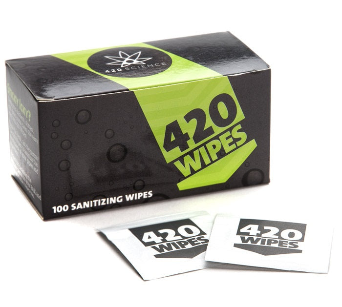 420 Wipes - Mouthpiece Wipes
