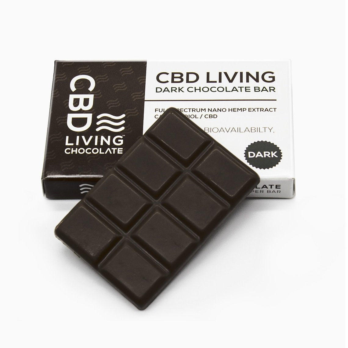 CBD Living Dark  Chocolate - 120 MG/Bar