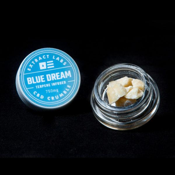 Extract Labs 1 Gram Blue Dream Crumble - 800 MG/Gram