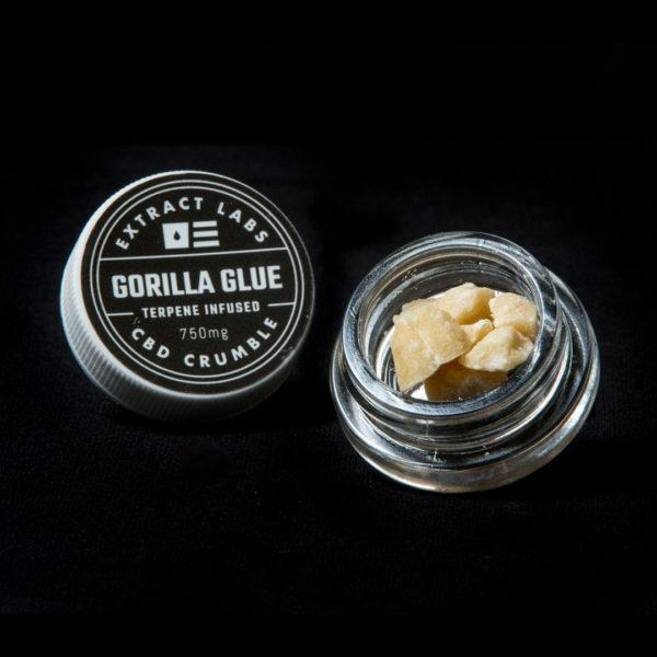 Extract Labs 1 Gram Gorilla Glue Crumble - 800 MG/Gram