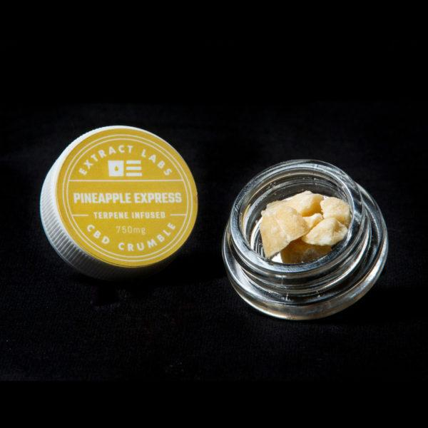 Extract Labs 1 Gram Pineapple Express Crumble - 800 MG/Gram