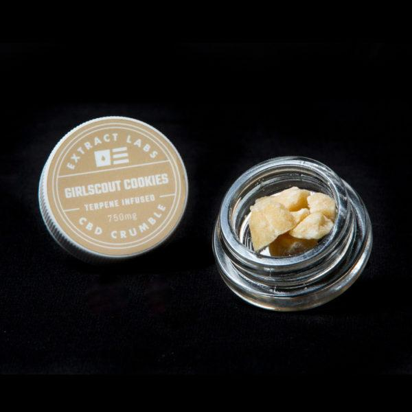 Extract Labs 1 Gram Girlscout Cookies Crumble - 800 MG/Gram
