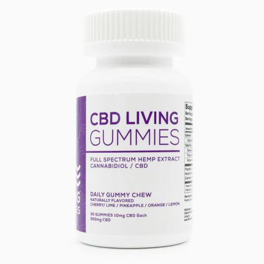 CBD Living Gummies - 30 ct. - 300 MG/Bottle