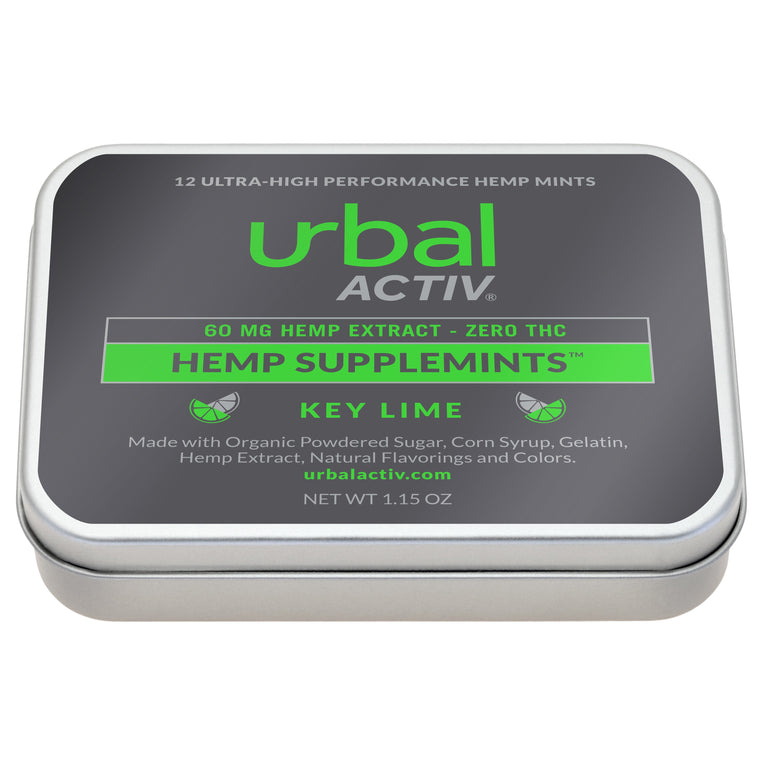 Urbal Activ 12 ct. CBD Key Lime Mints - 60 MG/Container