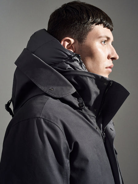 Close up of 49Winters Parka hood