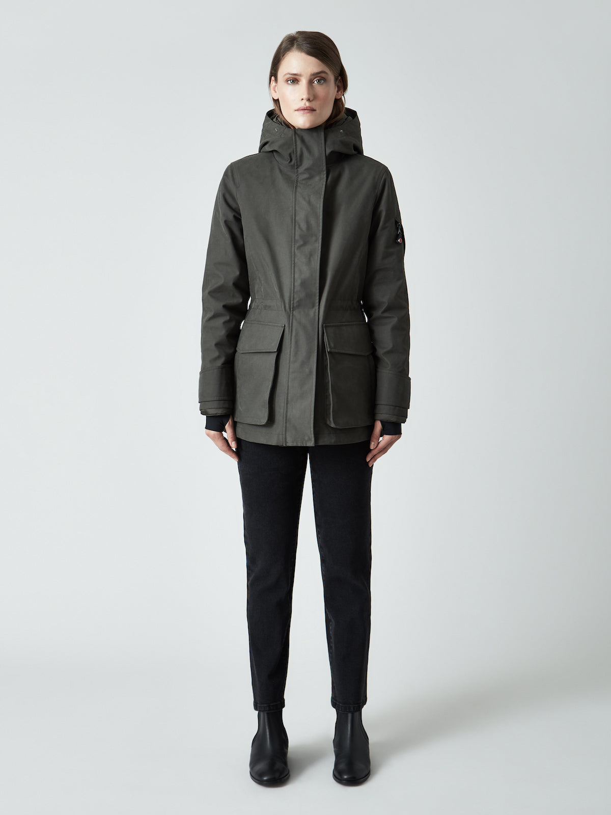 The Mid Parka Coat by 49Winters