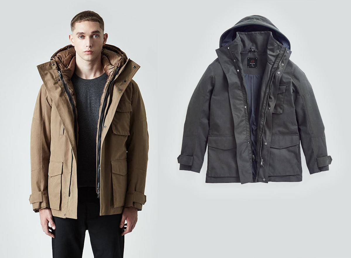 Mens Utility Jackets by 49Winters