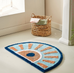 Germaine Geometric Anti-Slip Bath Rug