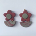 Daisies Earrings(three)
