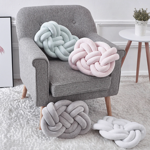 Kayleigh Nordic Knotted Cushions