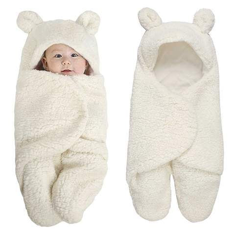 Plush Baby Swaddle Blanket