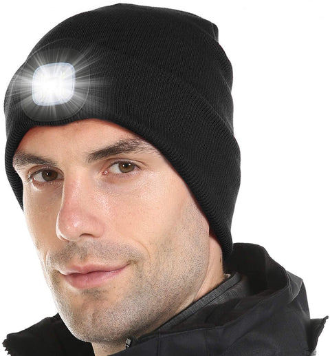 Rechargeable Led Winter Beanie