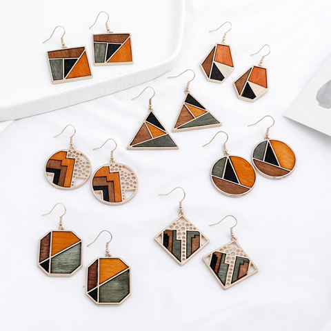 Abigail Geometric Earrings