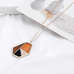 Abigail Geometric Necklace