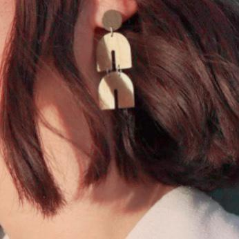 Angela Geometric Earrings