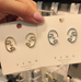 Cara Abstract Face Stud Earrings