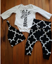 3 Pc Cute Giraffe Set