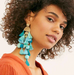 Gigi Large Tassels Statement Earrings