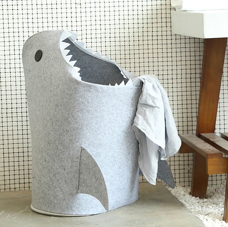 Shark Laundry/ Toy Storage Basket