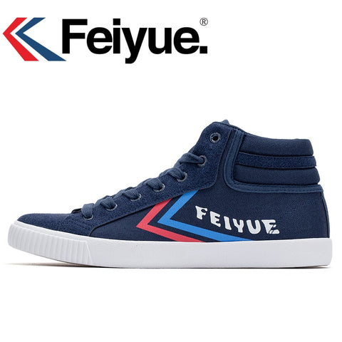 Feiyue Original Black High Improved Unisex Sneakers
