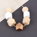 Kayli Multi Wooden Bead Long Necklace