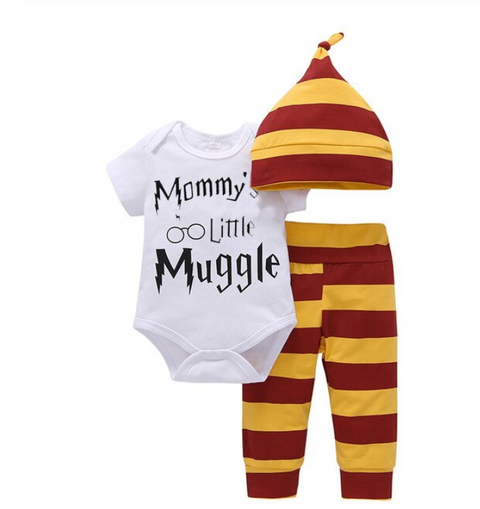 3-Pc Mommy's Little Muggle Set (Free Shipping)