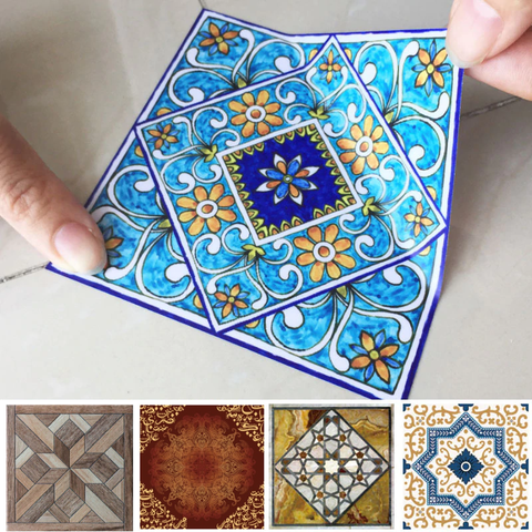 LuxDécor™ Waterproof Tile Stickers