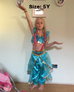 Girl Aladdin Princess Jasmine Costume