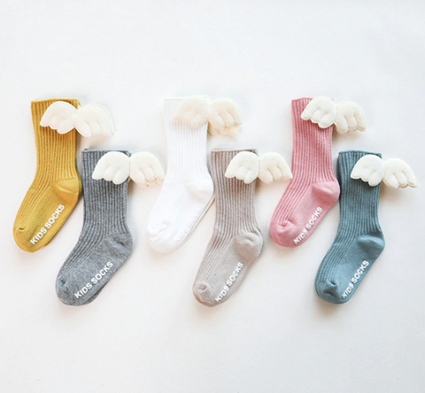 Children Angel Wings Socks