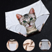 Seamless 3D Cats Printing Panties