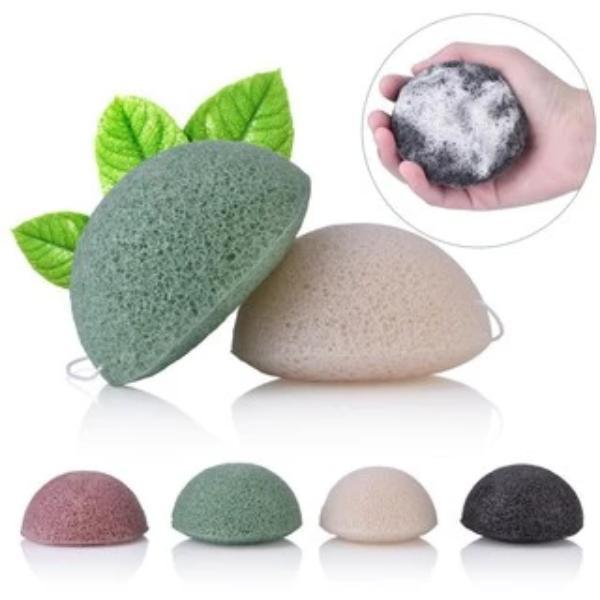 Natural Konjac Jelly Beauty Cleansing Sponge