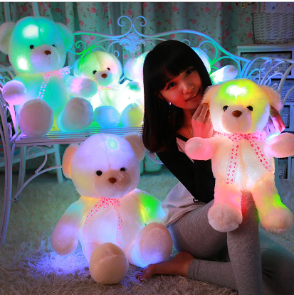 50cm Plush Led Teddy Bear  Glowing Toy