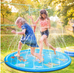 Children Inflatable Splinkler Play Mat