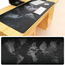 Large Gamer World Map Mouse Pad
