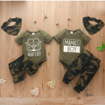 Baby Boy Daddy, Mama's Boy Set