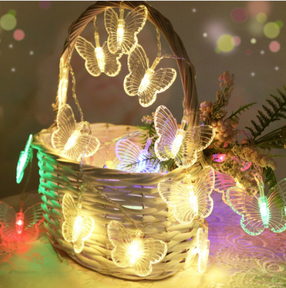 5M 20 Butterflies LED String Light