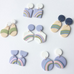 Amelia Rainbow Handmade Polymer Clay Earrings