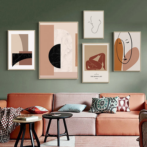 Natalee Abstract Nordic Art Prints