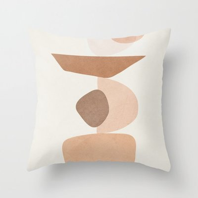 Ellen Abstract Color Block Geometric Cushion Covers